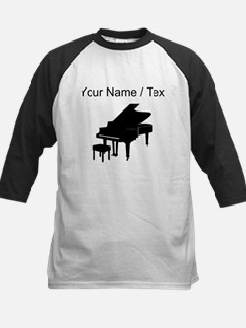 Custom Baby Grand Piano Baseball Jersey