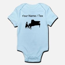 Custom Piano Player Body Suit