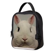 Dwarf Hotot Stare Neoprene Lunch Bag