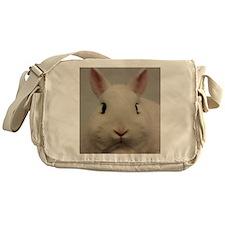 Dwarf Hotot Stare Messenger Bag