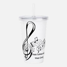 MusicExpression Acrylic Double-wall Tumbler