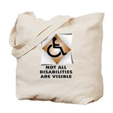 DISABILITY NOT Tote Bag