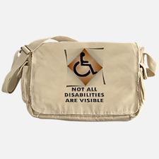 DISABILITY NOT Messenger Bag