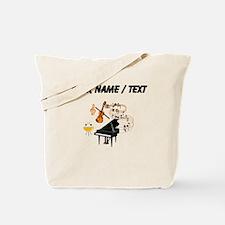Custom Musical Instruments Tote Bag
