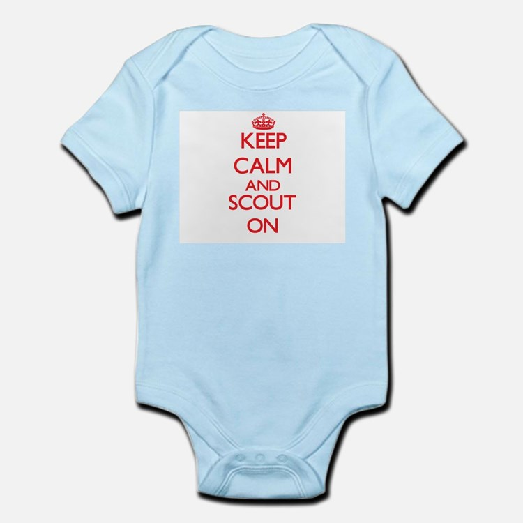 Keep Calm and Scout ON Body Suit