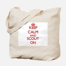 Keep Calm and Scout ON Tote Bag