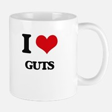 I Love Guts Mugs