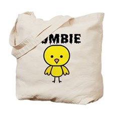 Zombie Chick Tote Bag