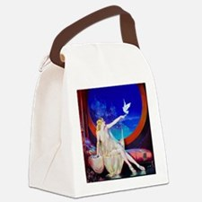 Sultana, Dove Pinup Canvas Lunch Bag