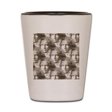 Beethoven Portrait Pattern Shot Glass