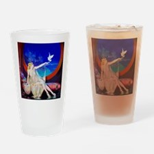 Sultana, Dove Pinup Drinking Glass