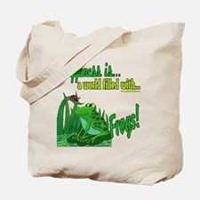 Happiness is a Frog Tote Bag