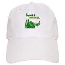 Happiness is a Frog Baseball Cap
