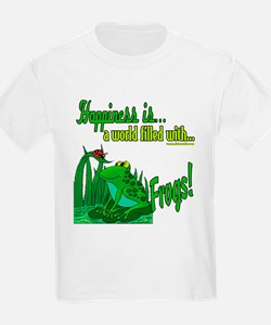 Happiness is a Frog T-Shirt
