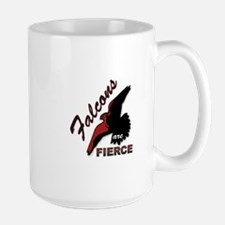 Falcons are FIERCE Large Mug