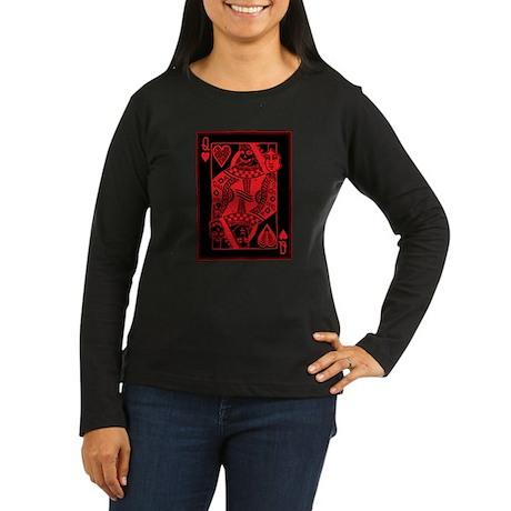 Unveiled Queen of Dispair RED Women's Long Sleeve