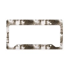 Beethoven Portrait Pattern License Plate Holder