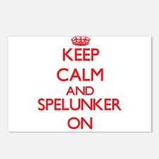 Keep Calm and Spelunker O Postcards (Package of 8)