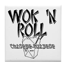 Wok 'N Roll Tile Coaster