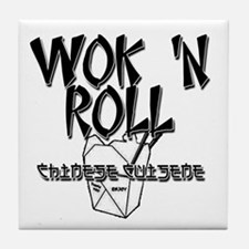 Wok 'N Roll Tile Coaster