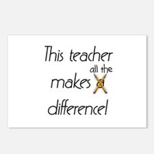 This Teacher Postcards (Package of 8)
