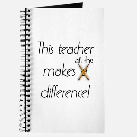 This Teacher Journal