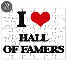 I Love Hall Of Famers Puzzle