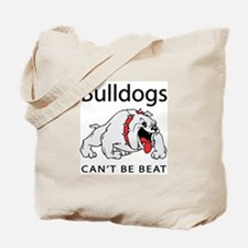 Bulldogs can't be beat Tote Bag