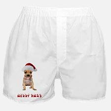 Xmas Chihuahua Boxer Shorts