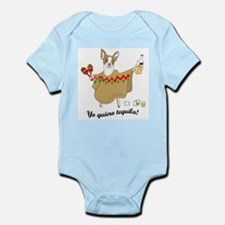 Tequila Chihuahua Infant Bodysuit