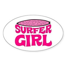 SURFER GIRL Decal