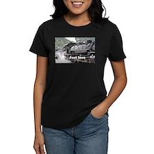 Just loco: Colorado steam train, USA, 3 T-Shirt
