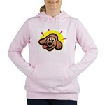 happy-dachshund.png Women's Hooded Sweatshirt