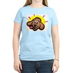 happy-dachshund.png Women's Light T-Shirt