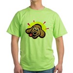 happy-dachshund.png Green T-Shirt