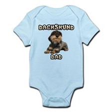 Wirehaired Dachshund Dad Infant Bodysuit