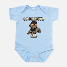 Wirehaired Dachshund Dad Infant Bodysuit