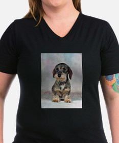 FIN-wirehaired-dachshund-PRINT-9x12.png Shirt