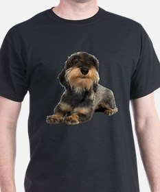 FIN-wirehaired-dachshund-photo-CROP.png T-Shirt