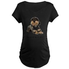 FIN-wirehaired-dachshund-good.png T-Shirt