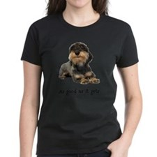FIN-wirehaired-dachshund-good.png Tee