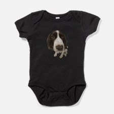 FIN-springer-spaniel-closeup.png Baby Bodysuit