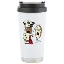 Cute Retro cooking mom Travel Mug