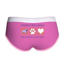 FIN-french-bulldog-pawprints.png Women's Boy Brief