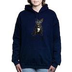 FIN-french-bulldog-best-friend.png Women's Hooded