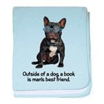 FIN-french-bulldog-best-friend.png baby blanket