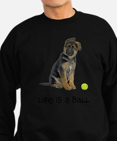FIN-german-shepherd-puppy-life.png Sweatshirt