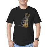 FIN-german-shepherd-puppy-photo.png Men's Fitted T
