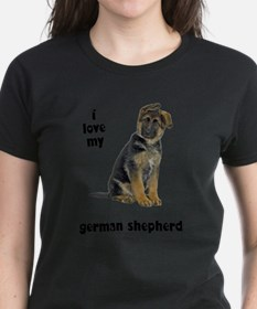 FIN-german-shepherd-puppy-love.png Tee