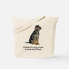 FIN-german-shepherd-best-friend.png Tote Bag